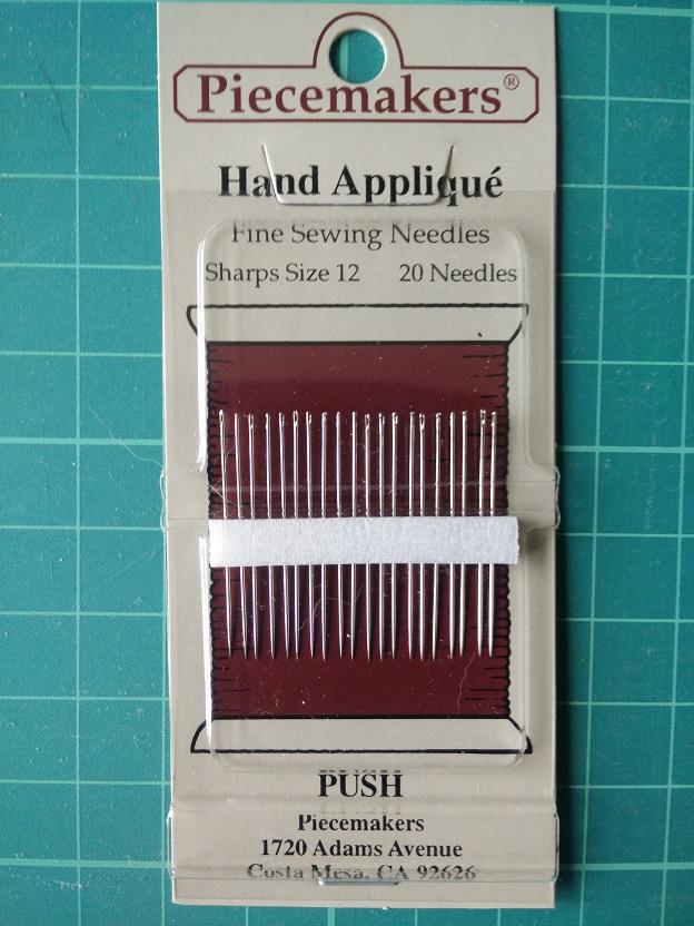 12-S12 Hand Appliqué Naalden