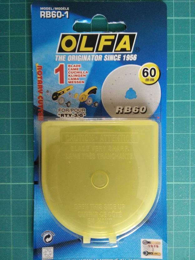Olfa RB 60 mm Reservemesje