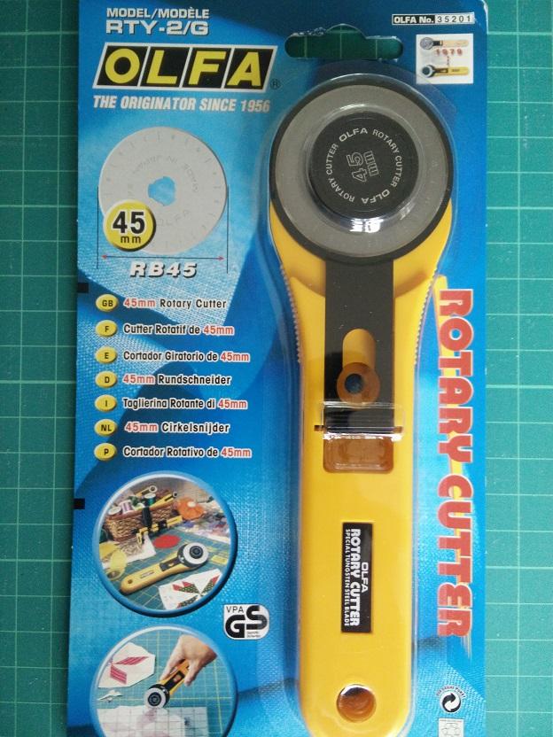 OLFA RTY-2G 45 mm Rolsnijmes