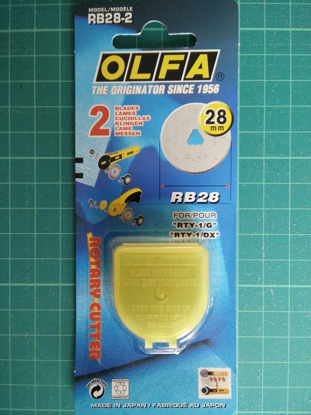 Olfa RB 28 mm Reservemesjes