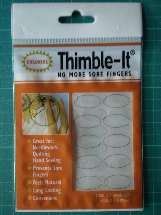 Thimble-It Plastic Vingerbeschermer