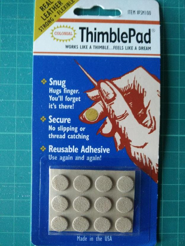 ThimblePad Vingerbescherm Dotjes