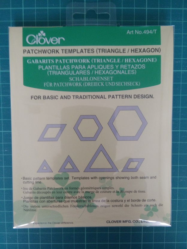 Clover 494/T Patchwork Templates