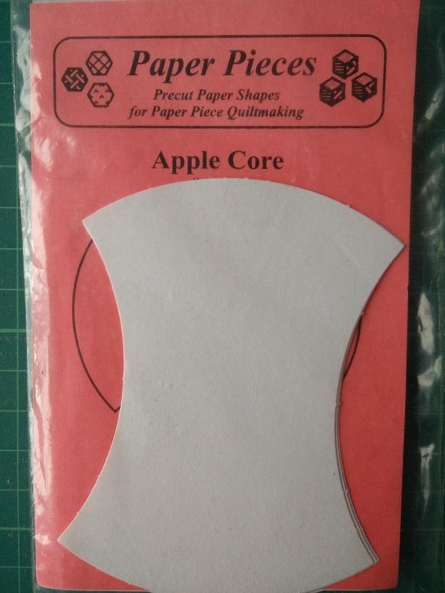 """Paper Pieces 4"""" Apple Core"""