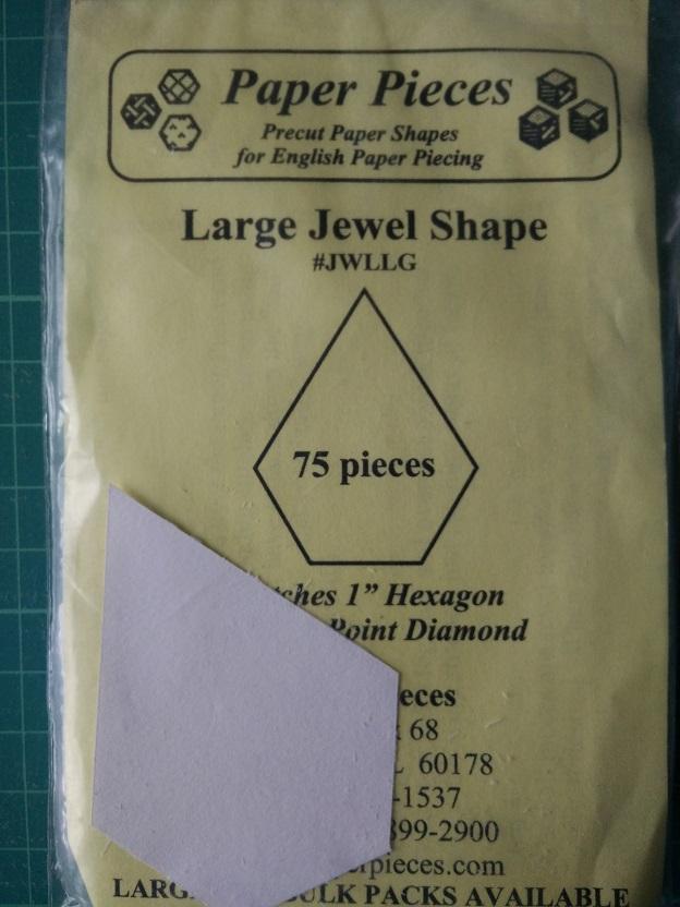 Paper Pieces Jewel Shape (L)