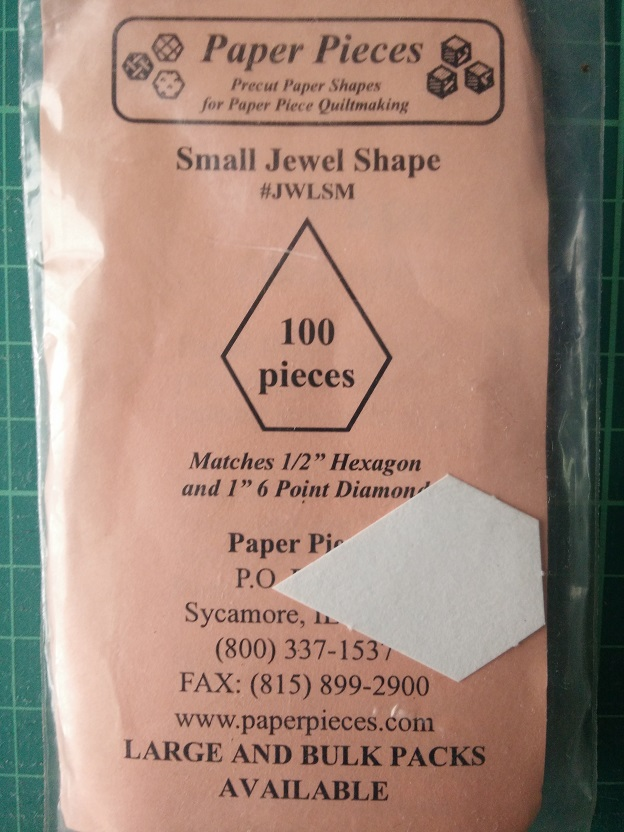 Paper Pieces Jewel Shape (S)