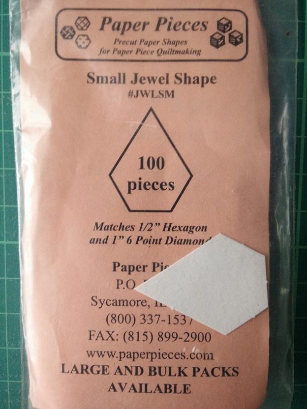 Paper Pieces Jewel Shape (S)