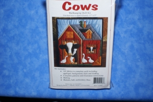 Kit K0403 Wallhanging Cows