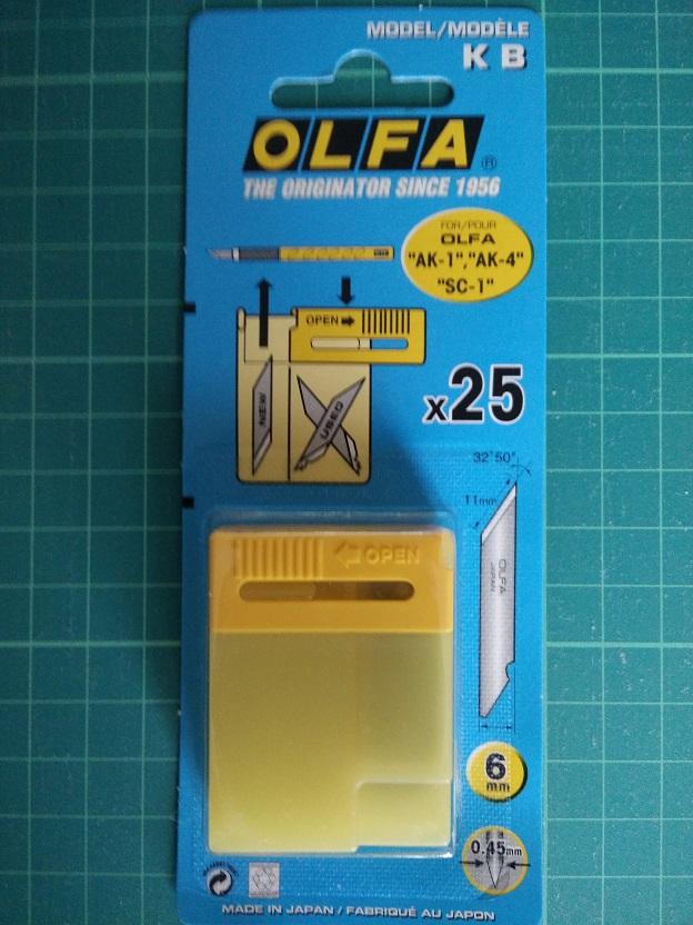 Olfa KB Res. mesjes Stencil Cutter