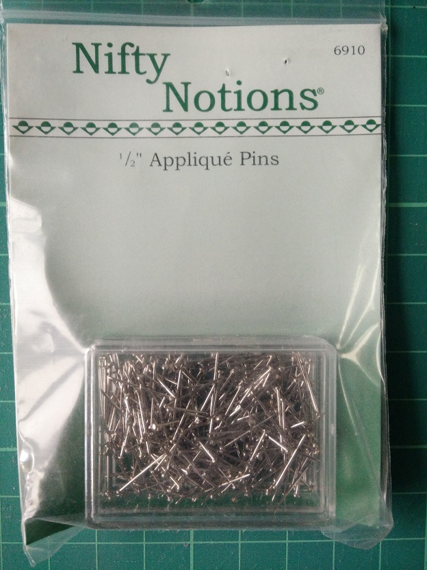 "Nifty Notions 6910 1/2"" Applique Pins"