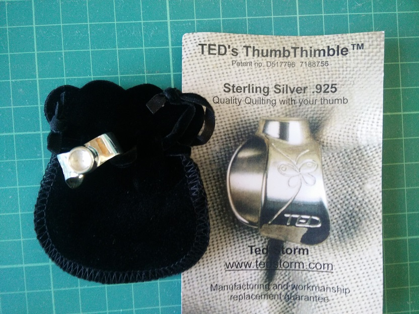 Ted's Thumb Thimble Duim Q. Ring