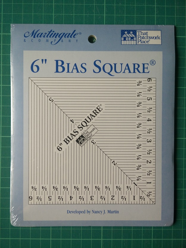 TPP TK6 Bias Square 6 inch Ruler