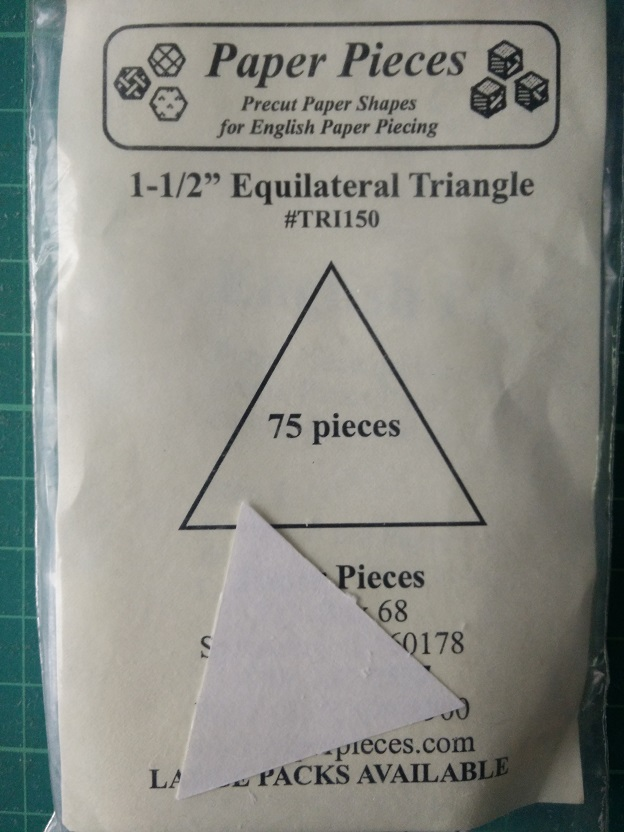 "Paper Pieces 1 1/2"" Triangles"