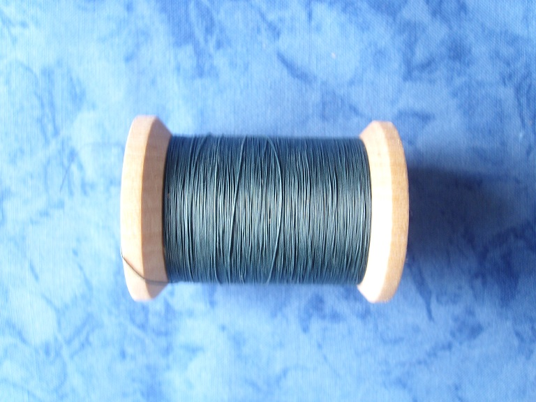 YLI Grey Blue 400 Yds Quiltgaren