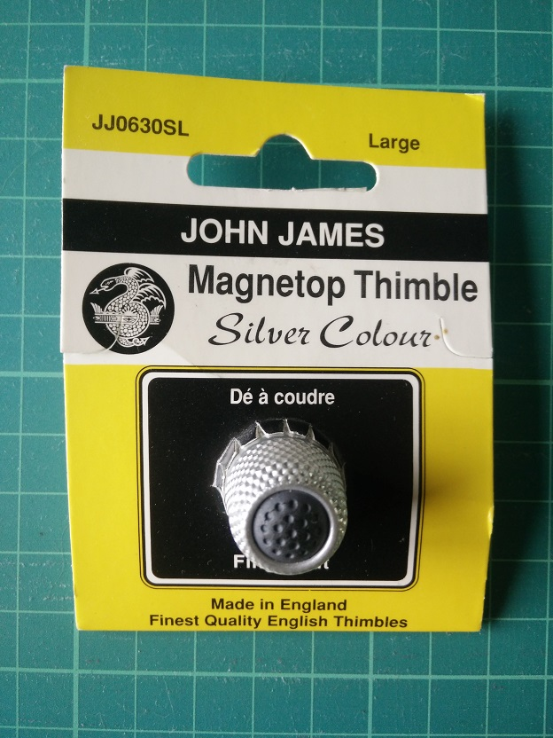 JJ0630SL Magnetische Vingerhoed