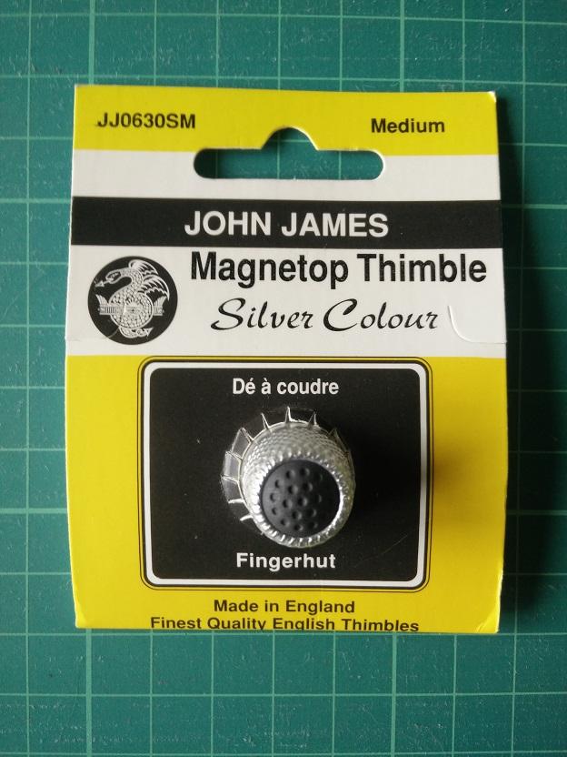 JJ0630SM Magnetische Vingerhoed