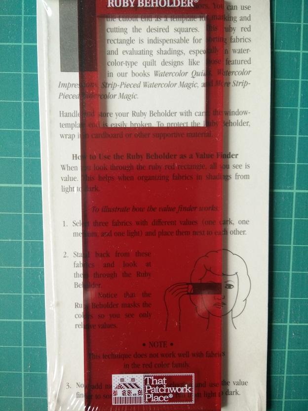 Ruby Beholder Kleur Nuance Hulp