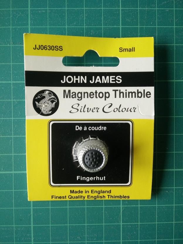 JJ0630SS Magnetische Vingerhoed