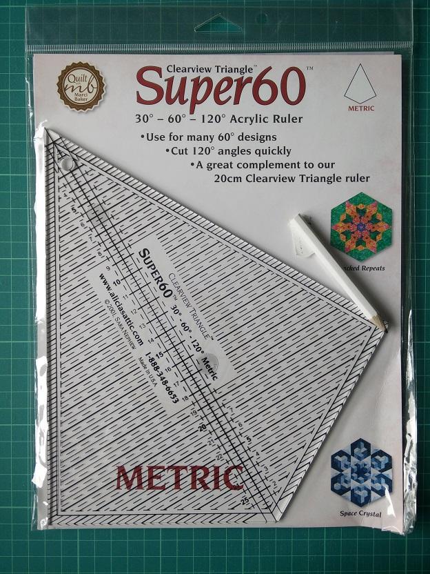 Clearview Super 60 Metric Ruler