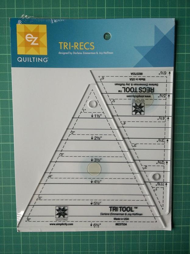 EZ 8823753A Tri-Recs Ruler