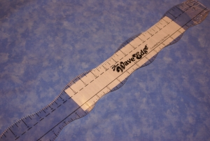 QR Wave Edge Ruler
