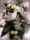 Rouwbloemstuk Orchidee