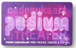 Podium Cadeaukaart-Feestdagen