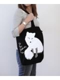 Fur Free Fashion tas zwart