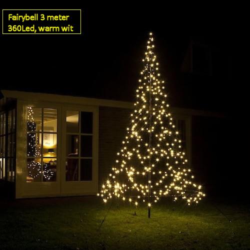 Aanbieding Fairybell Kerstboom 360 Led Warm Wit Flashing