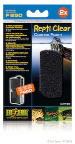 Repti Clear F250 Coarse Foam