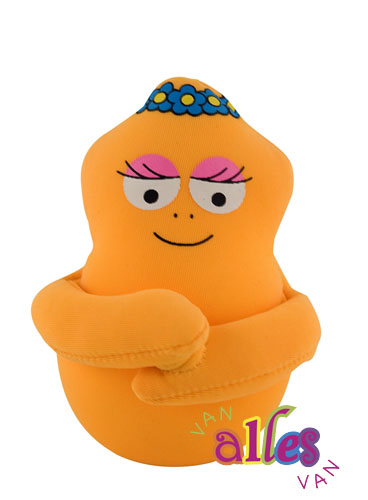 Mini stuffed toy Barbalib 10cm - orange