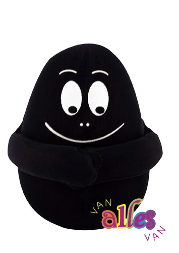 Mini stuffed toy barbabeau 10cm - black