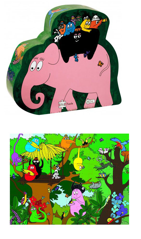 Barbapapa safari puzzle