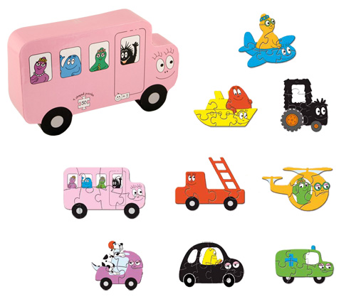 Barbapapa transport puzzle