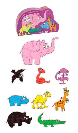 Barpapapa animal puzzle