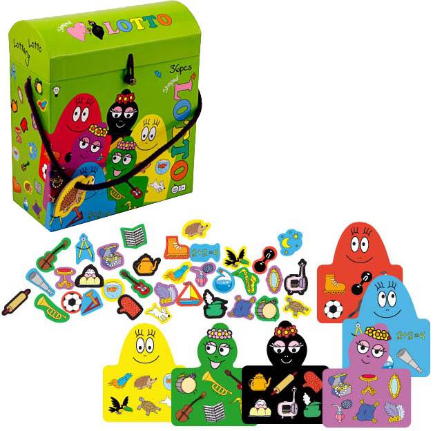 Barbapapa bingo game
