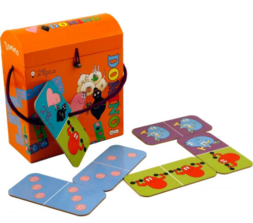 Barbapapa domino game