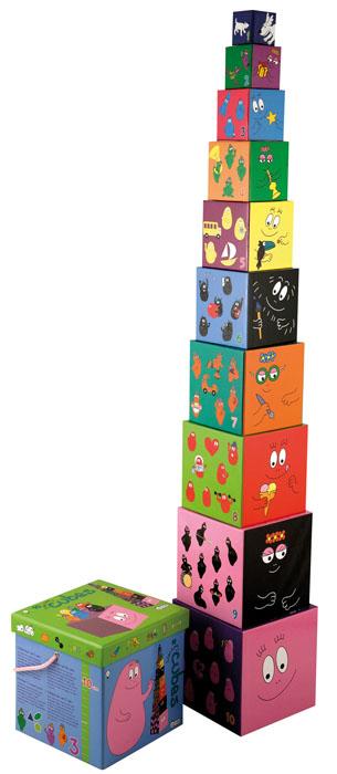 Barbapapa stack cubes - Barbotoys