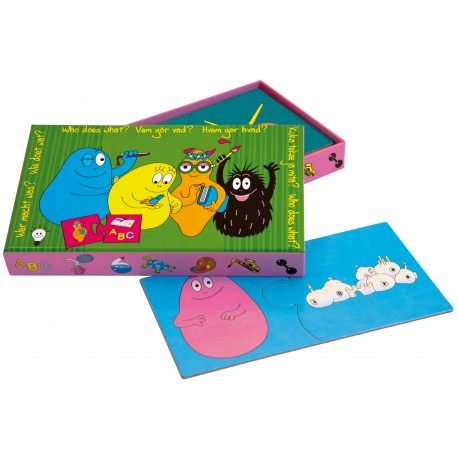 Barbapapa game - who does what (2+)