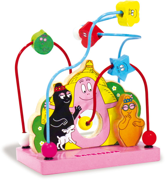 Barbapapa toy rollercoaster