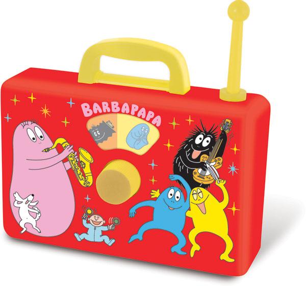 Barbapapa radio toy musicbox