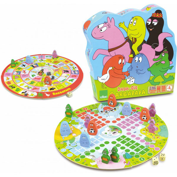 Barbapapa game of the goose / Ludo