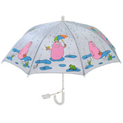 Barbapapa kids umbrella - grey