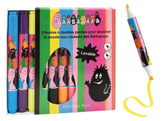Barbapapa markers