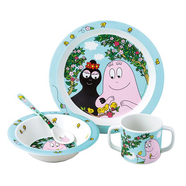 Barbapapa tableware spring