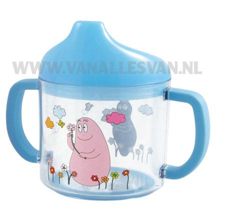 Barbapapa sippy cup - blue