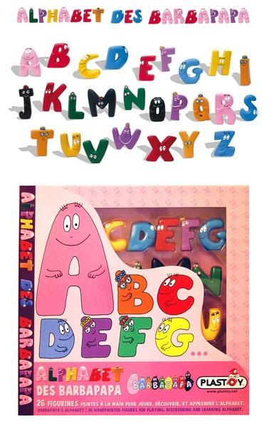 Barbapapa's alphabet