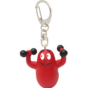 Barbabravo weights keychain