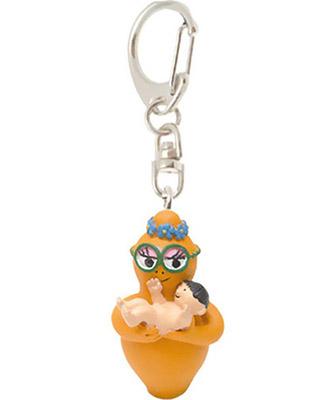 Barbalib keychain baby orange