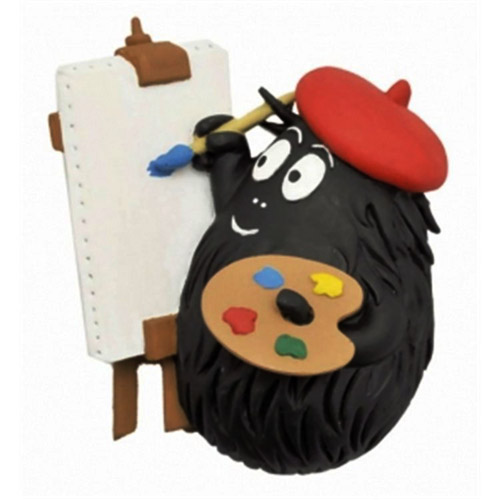 Barbapapa magnet Barbabeau painter